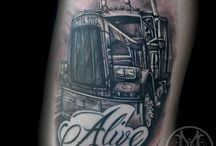 Tatuaje de camión