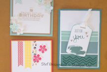 Stefs creations / Handmade cards i have created, mostly using Stampin' Up! Products.