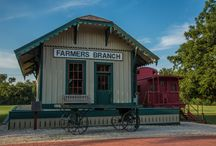 Farmers Branch Railroad Depot and Caboose