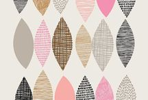 Print & Pattern / Here is a selection of print and patterns that we like. Some of these could work for digitally printed blinds #windowinspiration