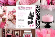 Mikah's sleepover party / My youngest daughter is turning 9 and wanted a small sleepover party