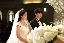 Korean Celebritie's Weedings