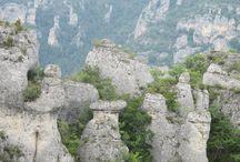 Randonnées entre Causses et Cévennes / De Millau (#Aveyron) à la corniche des #Cévennes (#Gard), un paradis pour les randonneurs.