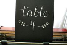 Номера столов