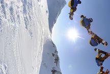 Shredding / Snowboarding