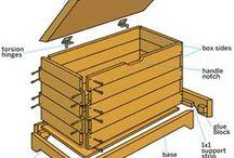 DIY treasure chest