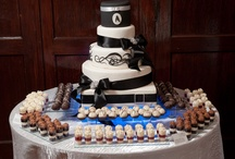 KB Kakes Gourmet Kake Truffle Wedding Cakes / Wedding Cakes created by Kathy of KB Kakes using her famous gourmet kake truffles.  They are great for the non-traditional Bride wanting that wow factor!
