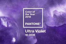Trend Color 2018 | Pantone Ultra Violet | Hochzeitsinspiration / Die Pantone 2018 lautet Ultraviolet. Auf dieser Pinnwand findest du ein paar Hochzeitsinspiration, welche diesen Farbwert aufgreifen.