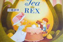 Tea Rex, Dinosaur Children's Book by Molly Idle