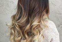 style hair / ombre hair