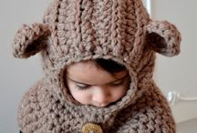 crochet hooded