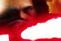 Star Wars / Kylo Ren, Adam Driver, Darth Vader, Hayden Christensen, General Hux, Domhnall Gleeson, Phasma, Han Solo, Luke Skywalker, Rey, Poe, Finn, BB-8, C-3PO, R2-D2