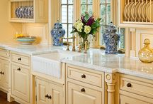 One More Time: Decorating with Blue and Yellow / by Tammy Henderson