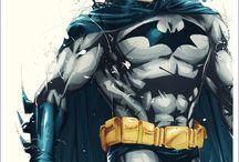 Heroes and Villains / Basically Batman etc.