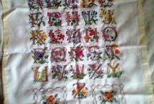 cross stitch/needle work/knit/crochet/sewing / by Lee Anne Lasky