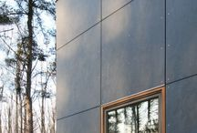 Prefab home cladding