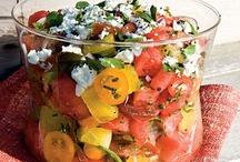 Food Salad and Dressing