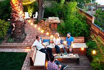 Backyard Entertainment / Landscapes and Grilling Space for entertaining family and friends. / by Beaufort House Inn