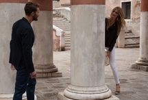 HOGAN Spring - Summer 2014 campaign. / Watch the backstage video of the Spring - Summer 2014 Women's campaign and see the pictures featuring Constance Jablonski and Jamie Dornan