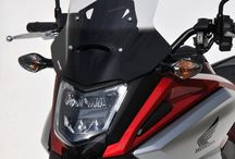 Honda NC 750 X 2016 by Ermax Design / Accessories, windshield & hugger