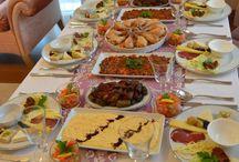 Kahvaltı masaları