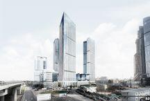 МОСКВА-СИТИ  Участок 17-18 / многофункциональные комплексы, офисные здания, жилые здания