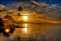 coucher de soleil Mooréa