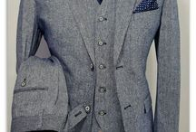 Suit up in grey