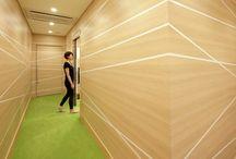 Corridors + Elevators / For corridors, elevator lobbies, and elevator interiors