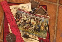 Egen produserte kort og bokser