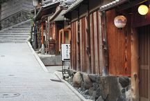 Japanese old streets