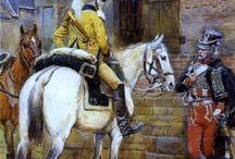 Napoleonics paintings & illustrations