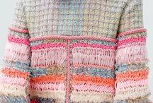Knit wear&materials