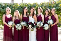 Burgundy Wedding / Wedding Highlight Photos at Villa de Amore featuring the color Burgundy. Villa de Amore is a private vineyard wedding estate located in Southern California's Temecula Wine Country, near both San Diego and Orange County