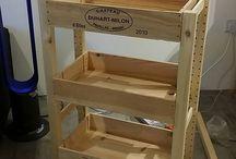 Ricicla scatole vino / cassettiere scatole vino