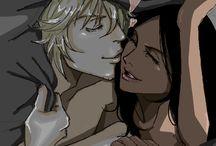 Kisuke & Yoruichi-Bleach