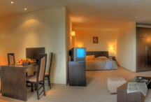 Rooms / The inside of the hotel. Check out the double rooms and the Panorama apartments