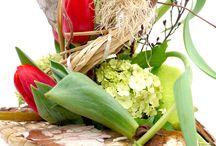 Floristiktipp / Ideen für Floristen oder DIY-Fans zum Binden von Sträußen zu speziellen Anlässen.