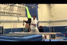 Gymnastics large skills
