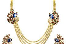 Gold Plated Ethnic Traditional Strand Necklace