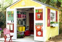 Garden Sheds / shed exteriors / by Carla Field