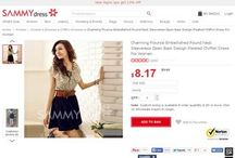 SammyDress Coupons, SammyDress Promo Codes & Discount Offers / This Page is created to SammyDress Coupons, promo codes, discount offers, deals & more. This is NOT an official page of SammyDress .  / by Coupon Codes