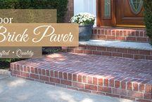 Outdoor Brick Projects / Outdoor installations of Veneer Thin Brick