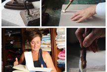 """Lizziemargherita - Legatoria creativa / Woman at Work! Un lavoro di testa, cuore e mani:  così nascono e prendono """"vita"""" le mie creazioni..."""