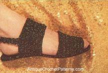 zapatos crochett