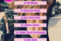 Arm/Back/Shoulder Workout