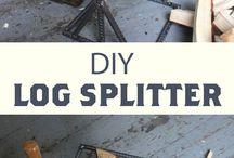 Štípač ruční - Splitter wood