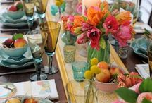 Table settings I love / Entertaining.... I love