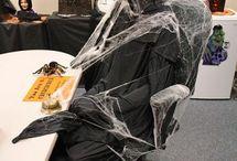 20 Halloween office theme ideas / 20 Halloween office theme ideas