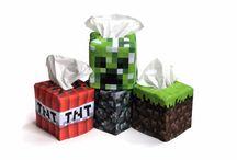 Minecraft For Luke / by Vanessa Westmoreland